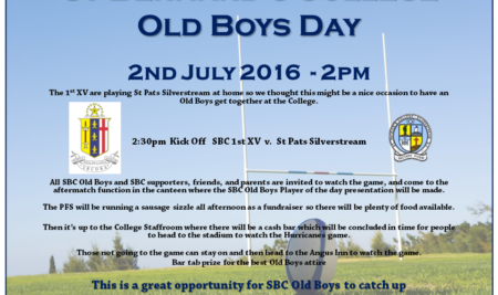 SBC Old Boys Day 2nd July 2016