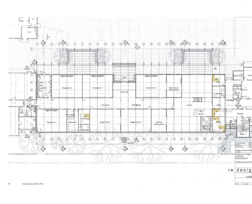 Building Plan CD Ground Floor