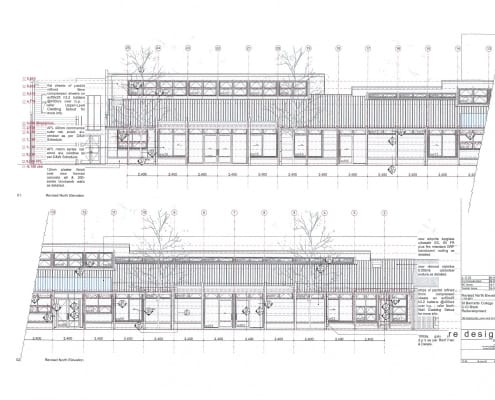 Building Plan CD North Elevation